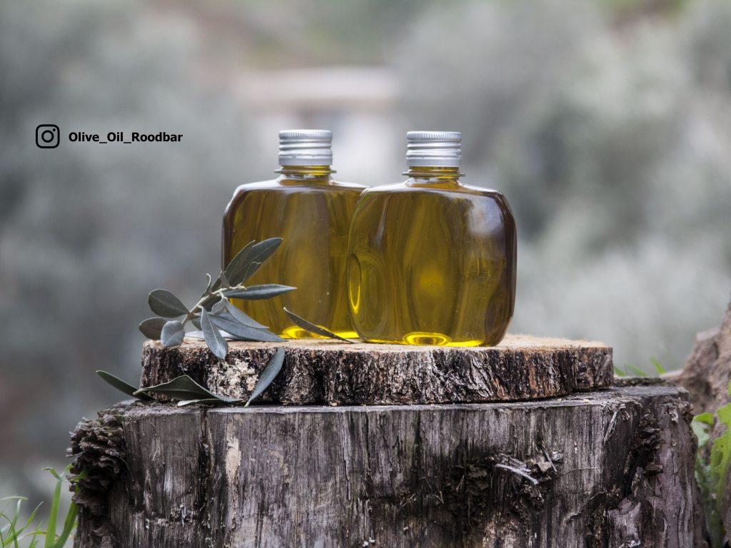 استفاده روغن زیتون برای سالاد